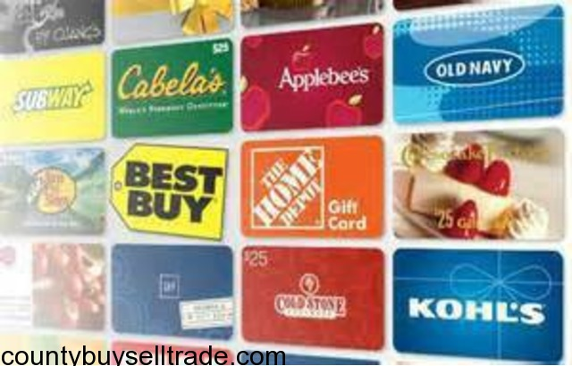 We Buy Gift Cards In Clearwater Pinellas Florida